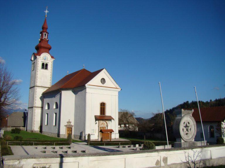 Cerkev sv. Jurija Zgornje Gorje