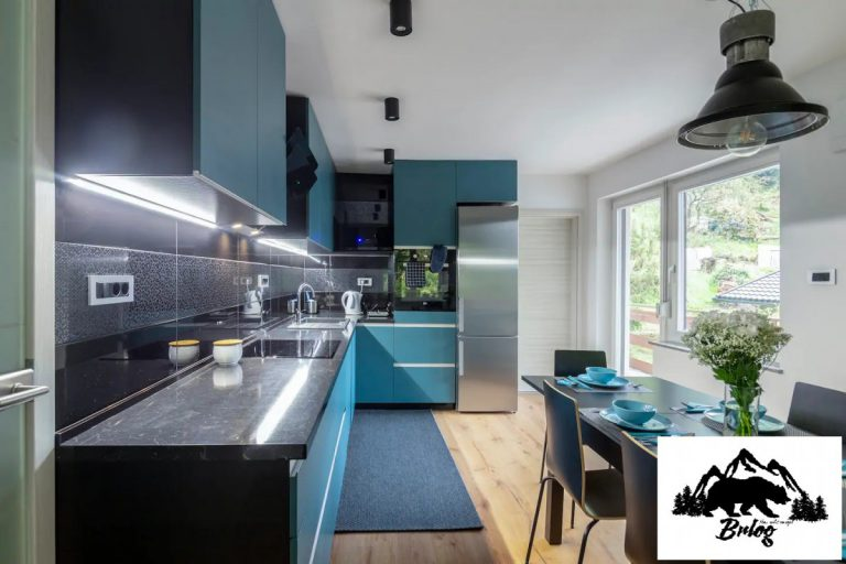 Apartma Brlog kuhinja