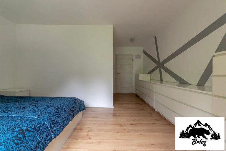 Apartma Brlog spalnica