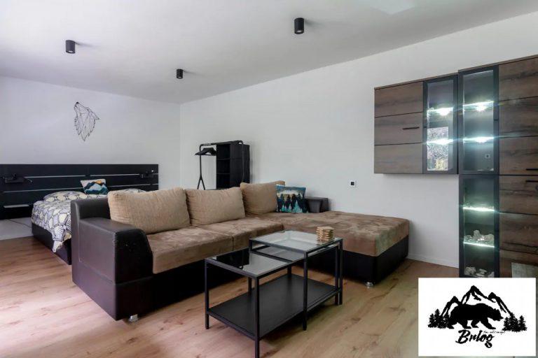 Apartma Brlog spalnica 2